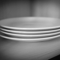 Symbolism and Minimalism – 4 Plates and spares